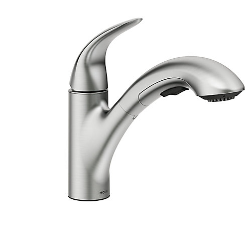 Medina Single-Handle Pullout Kitchen Faucet in Spot Resist Stainless