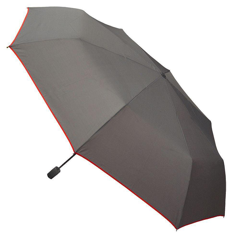 Rainbrella Black with Red Trim Auto Open-Close-S