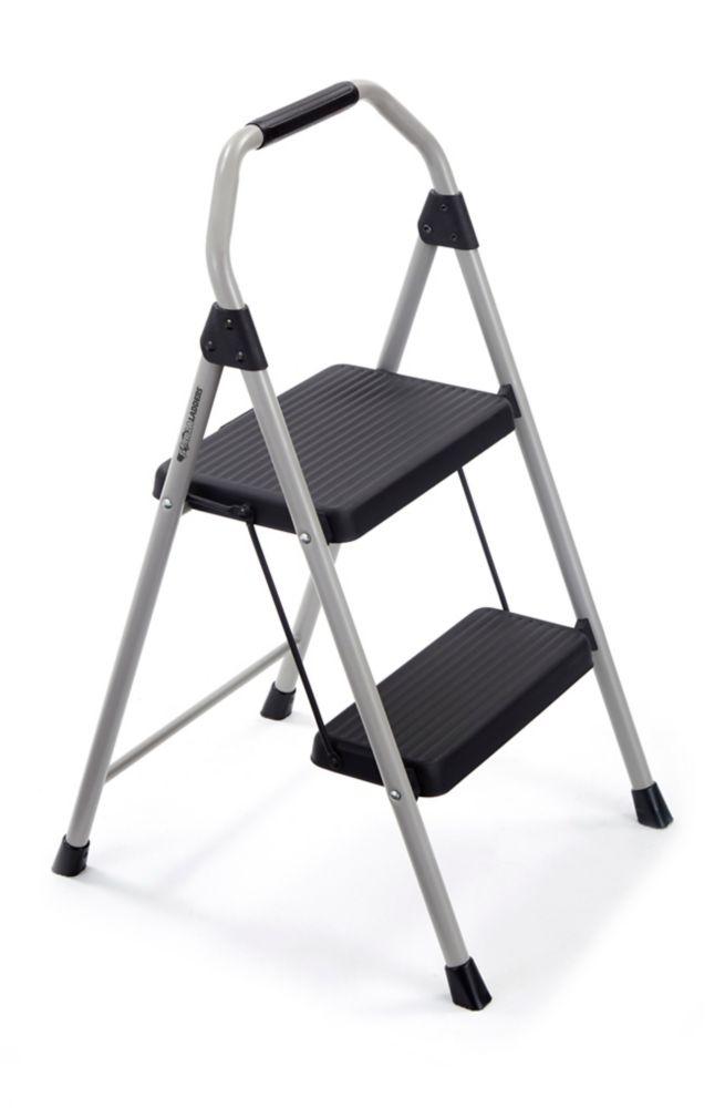 Astounding 2 Step Compact Steel Step Stool Lamtechconsult Wood Chair Design Ideas Lamtechconsultcom