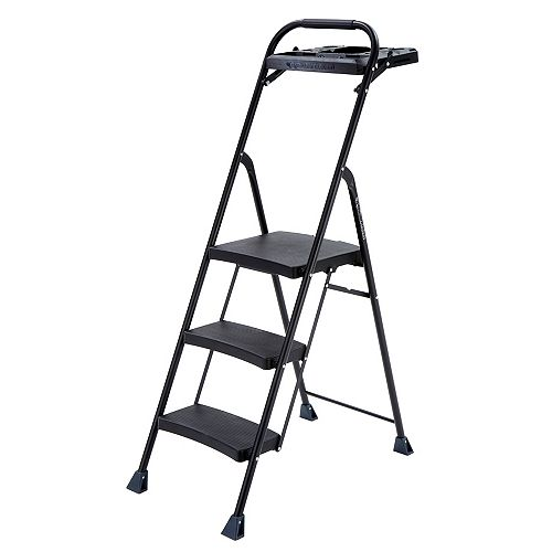 3-Step PRO Steel Project Step Stool