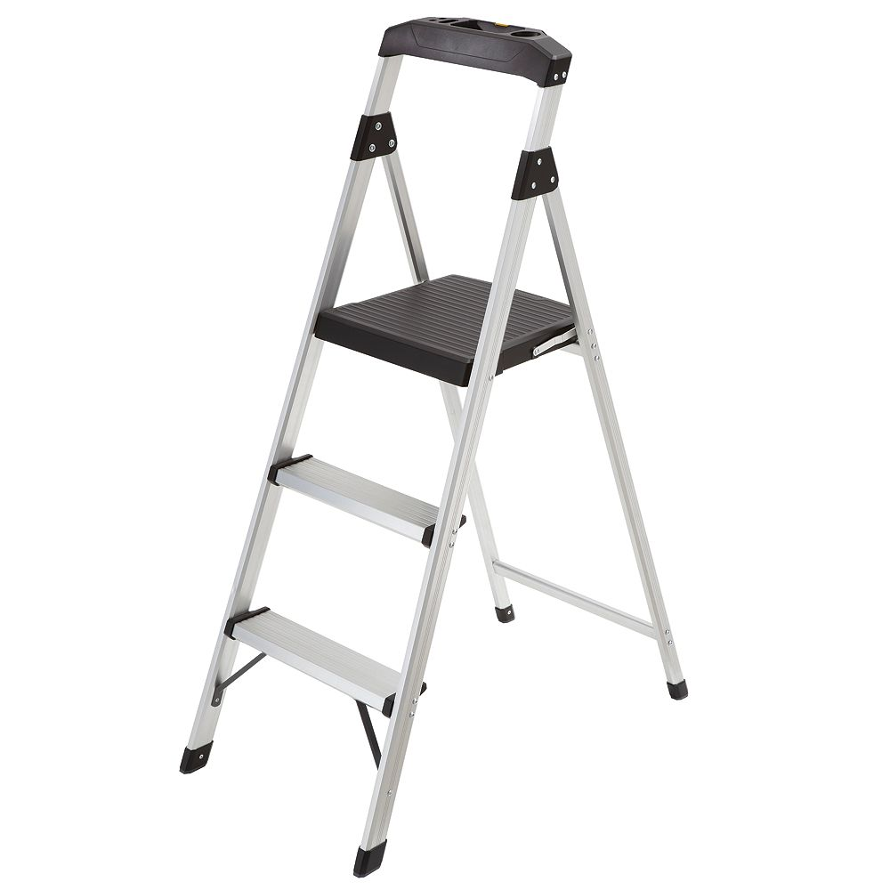 Gorilla Ladders 3-Step Lightweight Aluminum Step Stool
