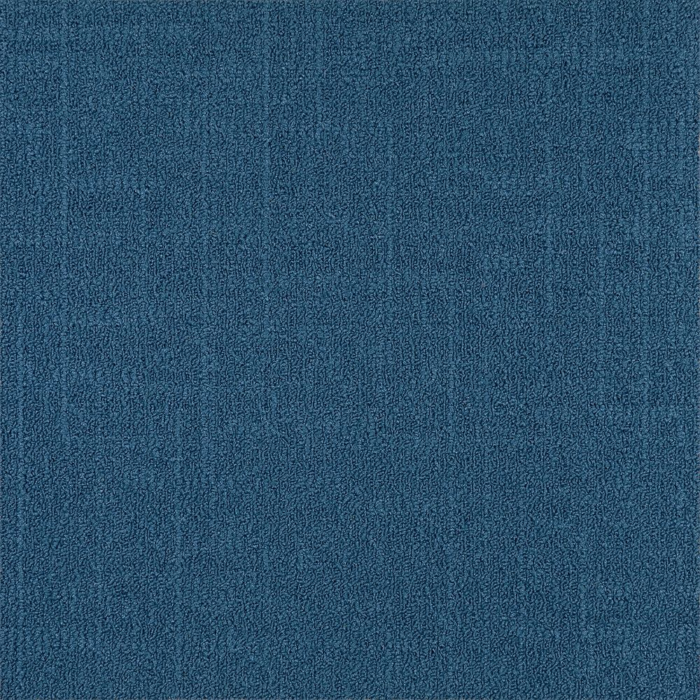 Astella Carreau de tapis-Reed coleur Bleu (21.53 SF)