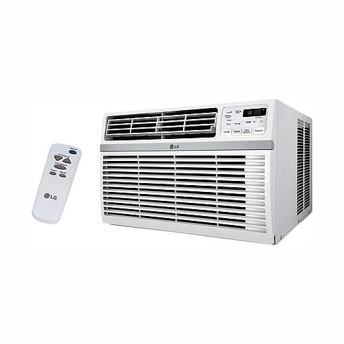 10,000 BTU 115-Volt Smart Wi-Fi Window Air Conditioner with Remote