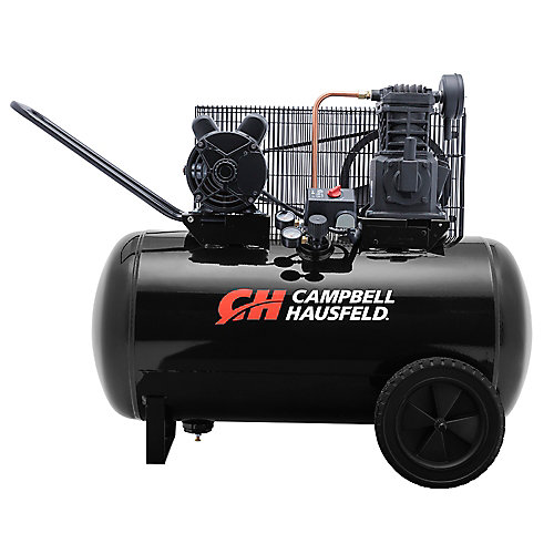 Campbell Hausfeld Compresseur d'air de portable 113,55 litres 10.2CFM 3.7HP 208230V 1PH (VT6104)