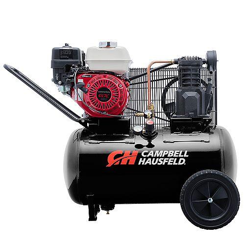 Campbell Hausfeld Air Compressor, 20 Gallon  Portable  10.2CFM GX160 Honda (VT6171X)