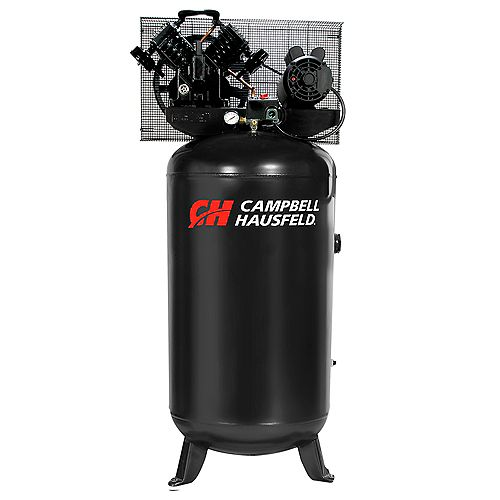 Campbell Hausfeld 5HP 208-230V 303L 90 PSI Electric Air Compressor