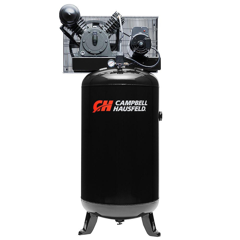 Campbell Hausfeld Air Compressor, 80 Gallon 14CFM 5HP 208-230V 1PH (CE3000)