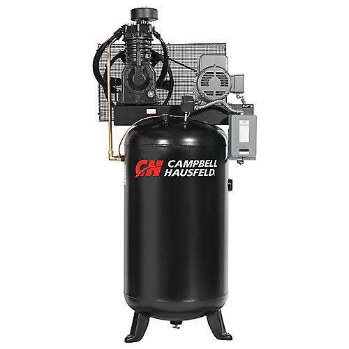 Campbell Hausfeld Compresseur d'air de 302,80 litres 17.2CFM 5HP 208-230V 1PH (CE7050)