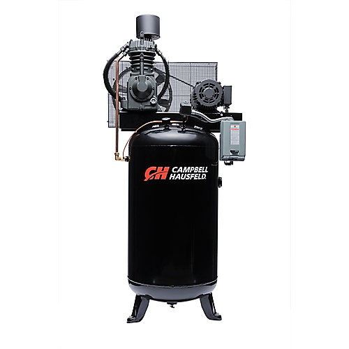Campbell Hausfeld Compresseur d'air de 302,80 litres 25CFM 7.5HP 208-230V 1PH (CE7000)