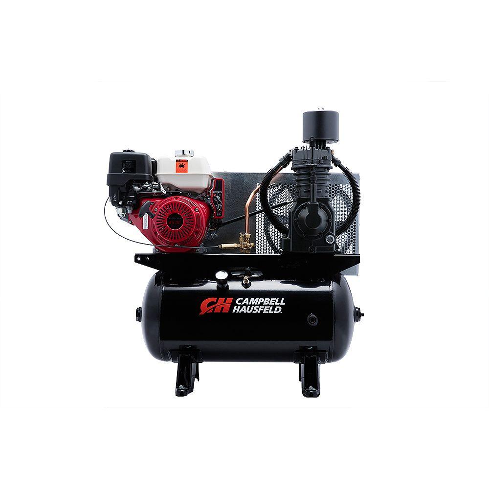 Campbell Hausfeld Air Compressor, 30 Gallon 26.1CFM GX390 Honda (CE7003)