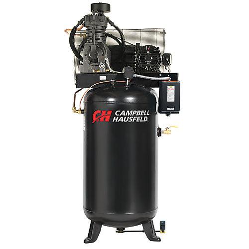 Campbell Hausfeld Compresseur d'air de 302,80 litres emballé 17.2CFM 5HP 208-230/460V 3PH (CE7051FP)