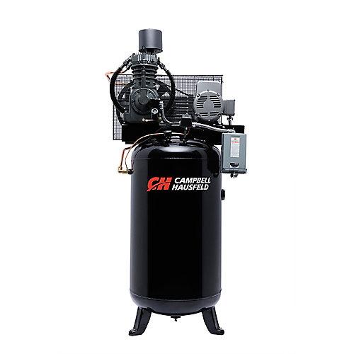Campbell Hausfeld Compresseur d'air de 302,80 litres emballé 25CFM 7.5HP 208-230V 1PH (CE7000FP)