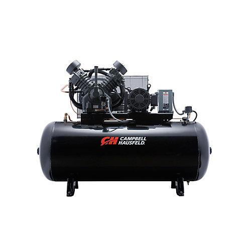 Campbell Hausfeld Compresseur d'air de 454,20 litres emballé 36CFM 10HP 208-230/460V 3PH (CE8001FP)