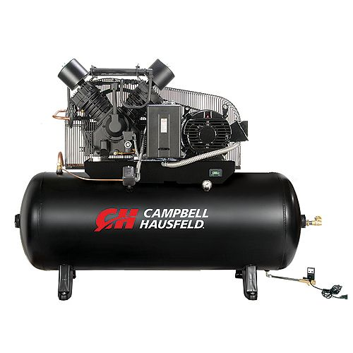Air Compressor 120 Gallon Fully Packaged  52CFM 15HP 208-230/460V 3PH (CE8003FP)