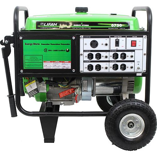 Energy Storm 6700-W 389cc 13 MHP Gasoline Powered Portable Generator