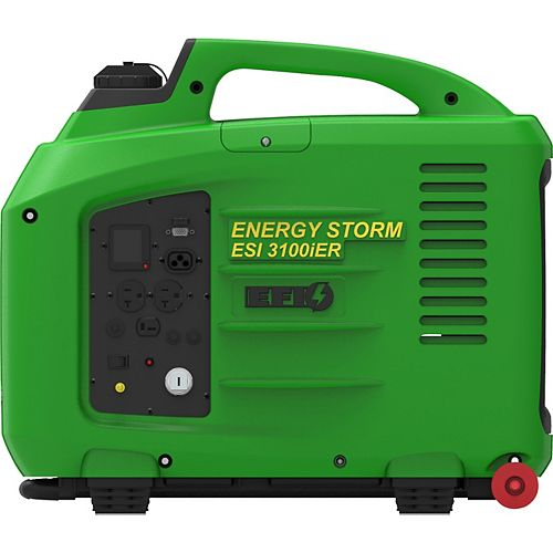 LIFAN Energy Storm Fuel Injected 3200W 150cc Gas Powered Electric Remote Start Digital Inverter Generator