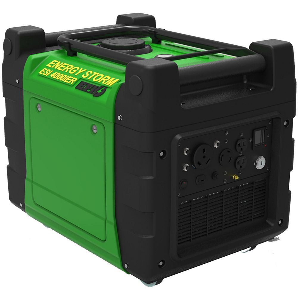 LIFAN Energy Storm Fuel Injected 4000W 270cc Gas Powered Inverter Generator with EFI Electric/Remote Start