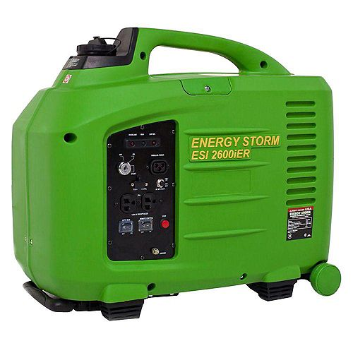 Energy Storm 2,800W 150cc Gasoline Powered Electric Start Inverter Generator with Remote Start/Stop