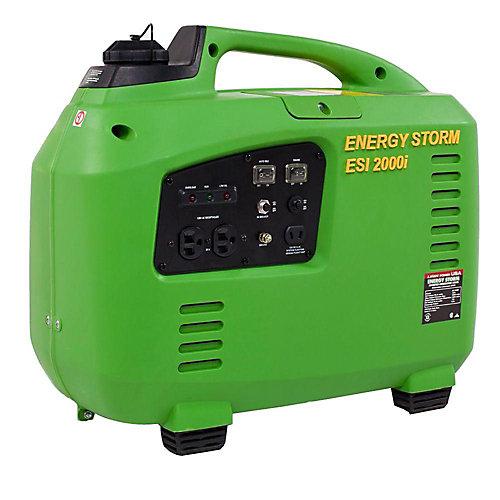 Génératrice à onduleur alimentée par essence 2000W 105cm3 Energy Storm