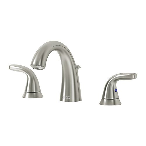 Cadet Widespread (8-inch) 2-Handle Mid Arc Bathroom Faucet with Lever Handles in Brushed Nickel