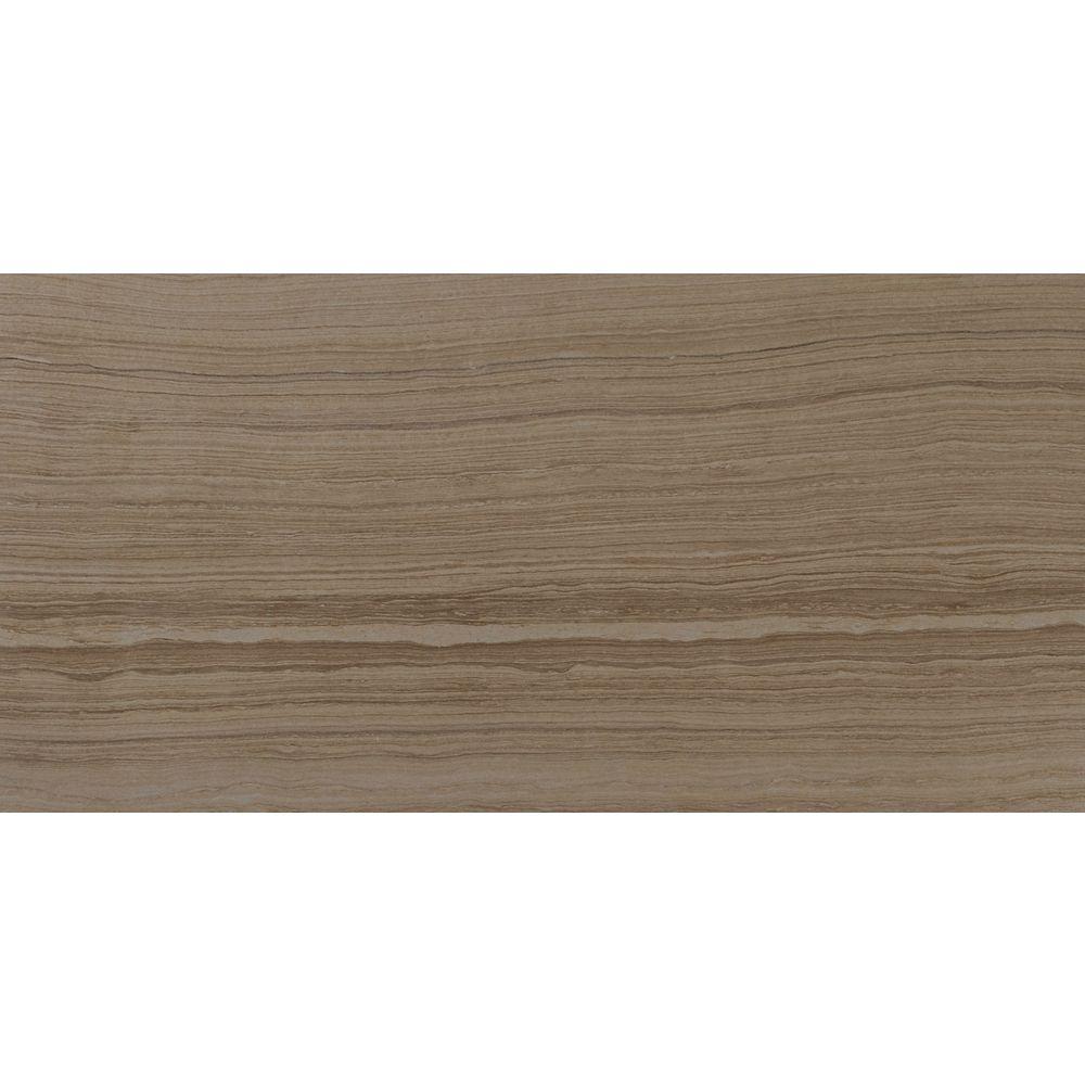 MSI Stone ULC Carreaux de porcelaine vernissée pour planchers et murs Eramosa Beige de 12 po x 24 po (12 pi ca/boîte)