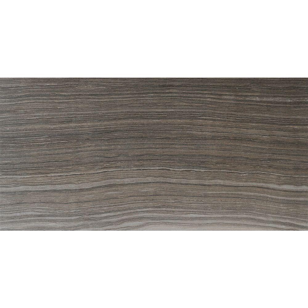 MSI Stone ULC Eramosa Grey 12-inch x 24-inch Glazed Porcelain Floor and Wall Tile (12 sq. ft. / case)