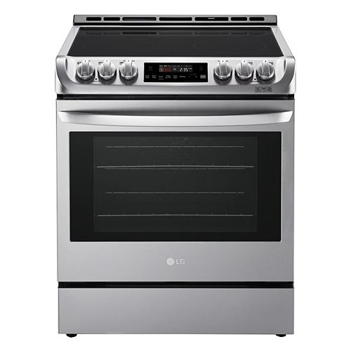 6.3 cu. ft. Electric Slide-In Range with ProBake Convection and EasyClean® in Stainless Steel