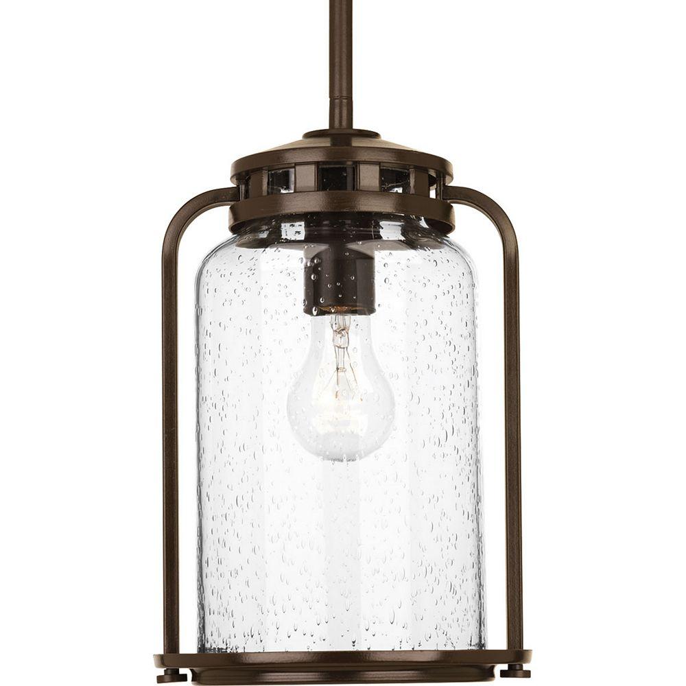 Progress Lighting Botta Collection 1-light Antique Bronze Hanging Lantern