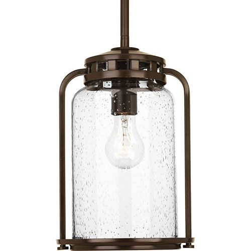 Botta Collection 1-light Antique Bronze Hanging Lantern