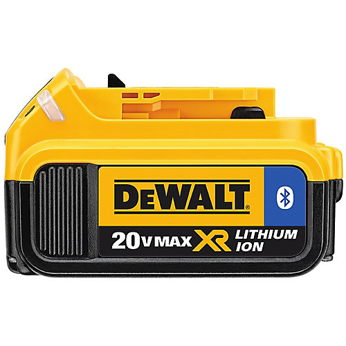 20V MAX 4.0Ah Battery with Bluetooth