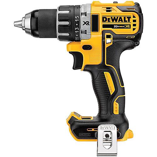 20V MAX XR Lithium-Ion Brushless Cordless 1/2-inch Compact Drill/Driver (Tool-Only)