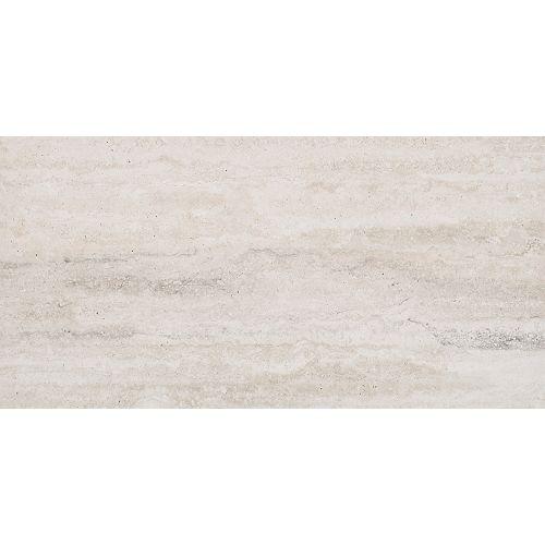 Veneto White 12-inch x 24-inch Glazed Porcelain Floor and Wall Tile (16 sq. ft. / case)