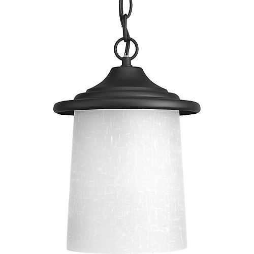 Essential Collection 1-light Black Hanging Lantern
