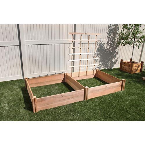Ensemble de jardin modulaire de luxe-2-1T