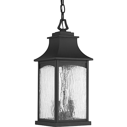 Maison Collection 2-light Black Hanging Lantern