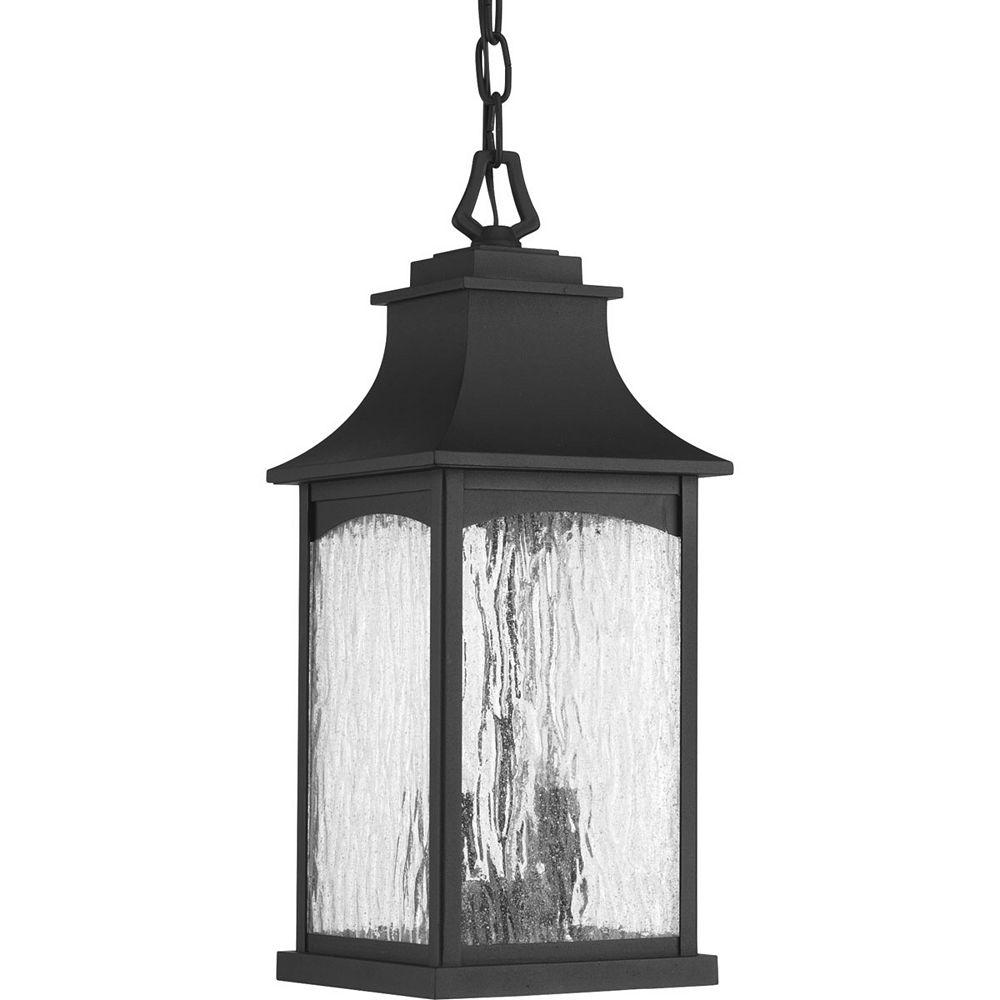 Progress Lighting Collection Maison  Lanterne suspendue à deux ampoules, noir
