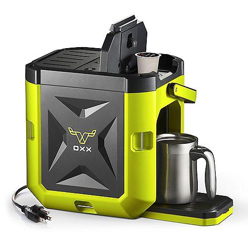Coffeeboxx Jobsite Coffee Maker in Green