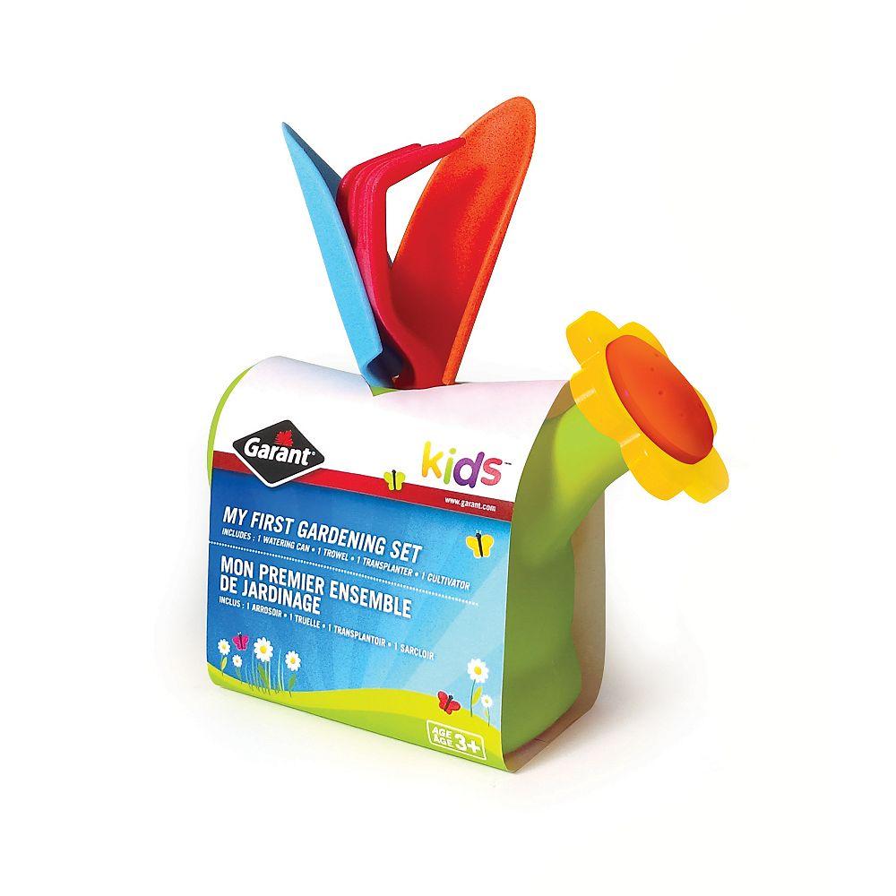 Garant Kids 3-Piece Garden Tool Set Plus Watering Can