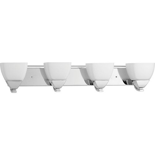 Progress Lighting Appeal Collection 4-light Polished Chrome Vanity