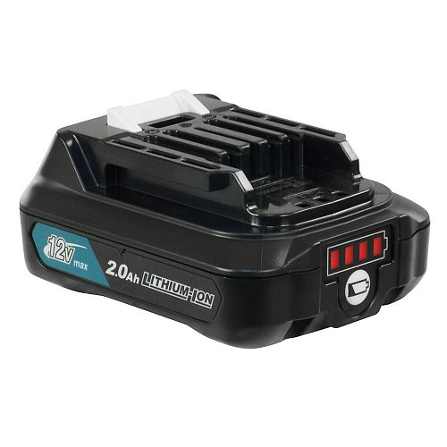 MAKITA 12V MAX CXT 2.0 Ah Li-Ion Battery