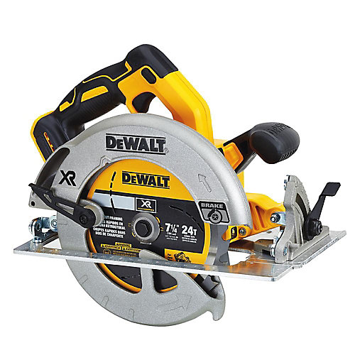 20V MAX XR Lithium-Ion Cordless Brushless 7-1/4-inch Circular Saw with Brake (Tool-Only)