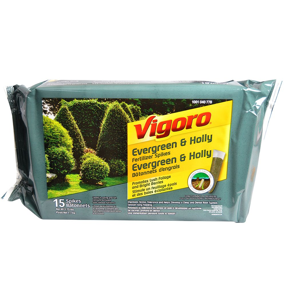 Vigoro Evergreen Fertilizer Spikes (15-Pack)