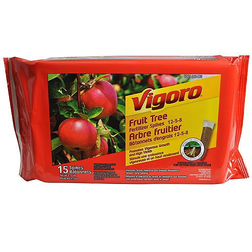 Vigoro (15) batonnets d'engrais pour fruits & agrumes
