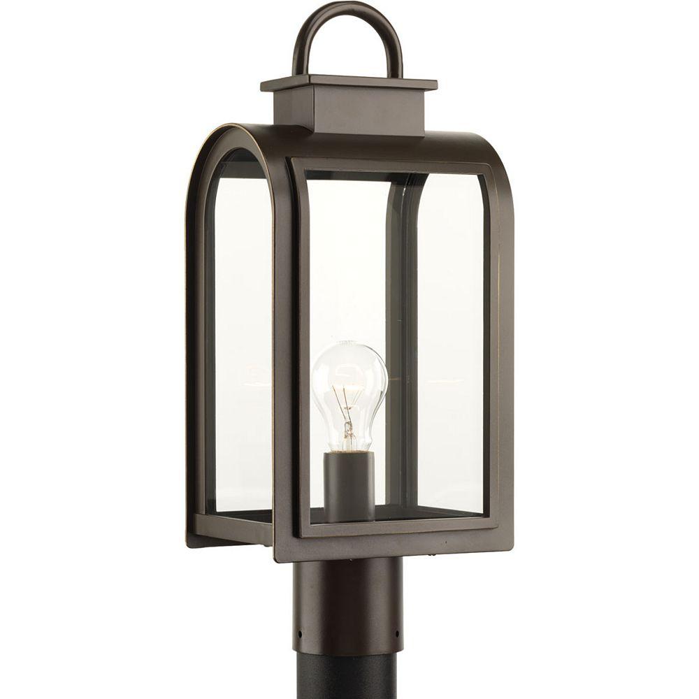 Progress Lighting Refuge Collection 1-light Oil Rubbed Bronze Post Lantern
