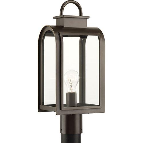 Collection Refuge – Lampadaire à ampoule unique, bronze huilé