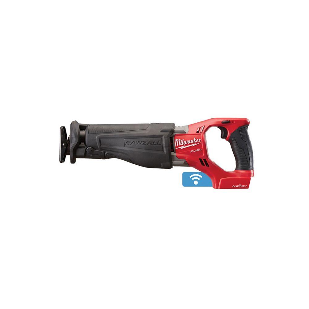 Milwaukee Tool M18 Fuel 18V Cordless Sawzall Reciprocating Saw w/ One-Key (Tool Only)