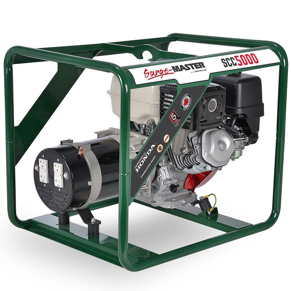 Surge Master SCC5000 5000W Generator with Honda GX270 Engine