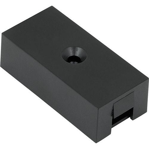 Boîte de branchement noire de la collection Hide-a-Lite pour éclairage à DEL pour dessous darmoire