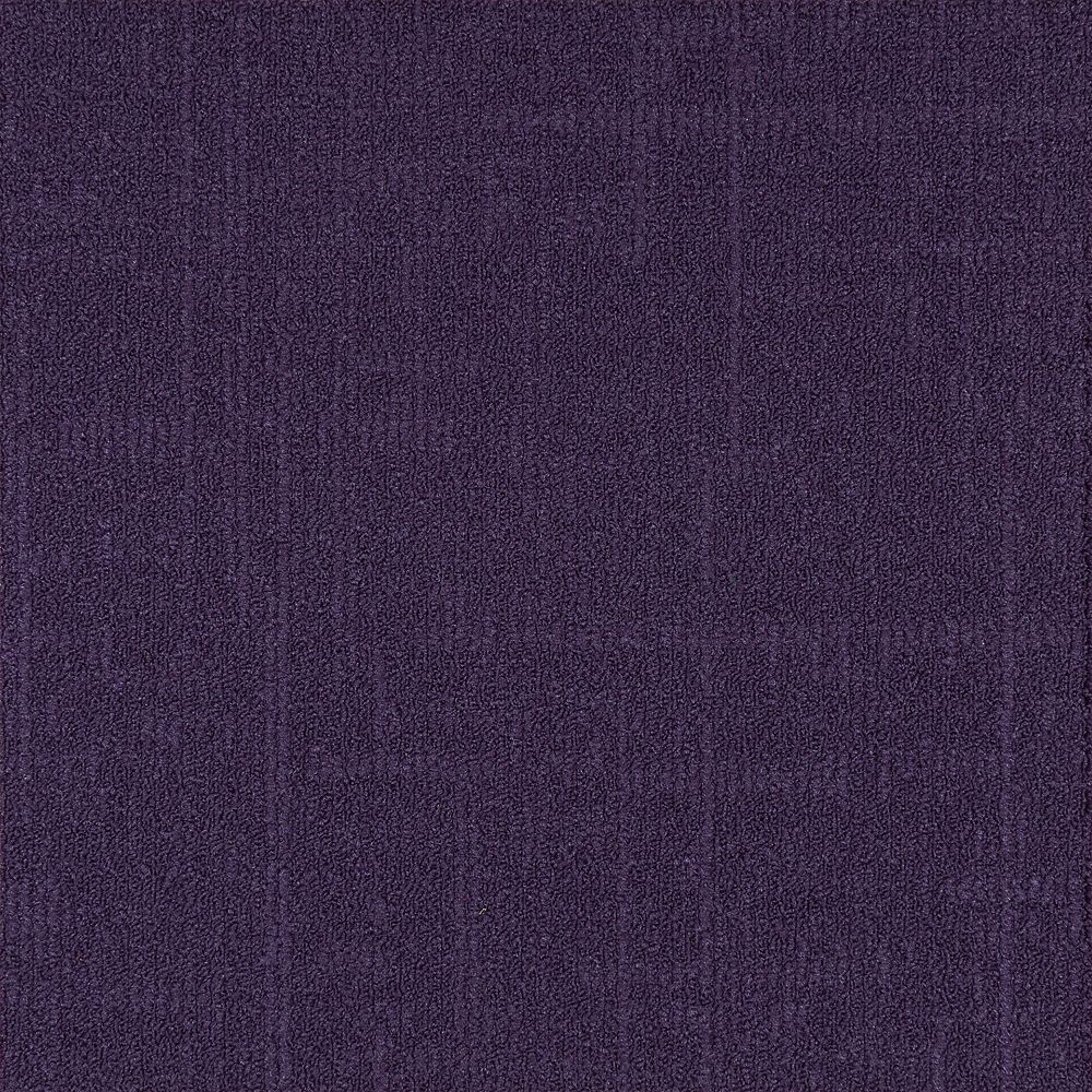 Astella Carreau de tapis-Reed coleur Mauve (21.53 SF)
