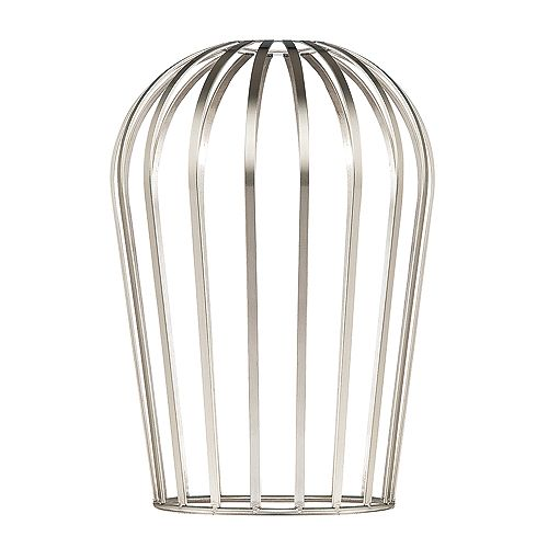 Tall Brushed Nickel Cage